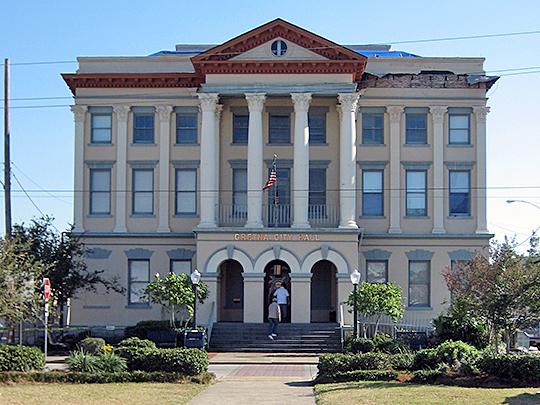 jefferson parish, la, old parish courthouse,gretna,huey p long avenue