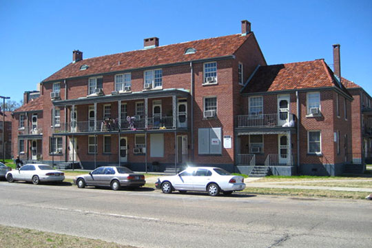 Iberville Public Housing Development, New Orleans, LA, National Register