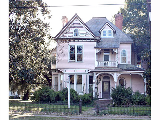 Bright-Lamkin-Easterling House, ca. 1890, 918 Jackson Street, Monroe, LA, National Register