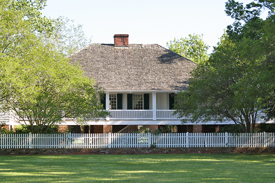 Kent Plantation House, ca. 1800, 3601 Bayou Rapides Road, Alexandria, LA, National Register