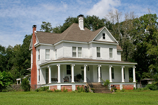 Cottingham House, ca. 1907, Cottingham Drive, Pineville, LA, National Register