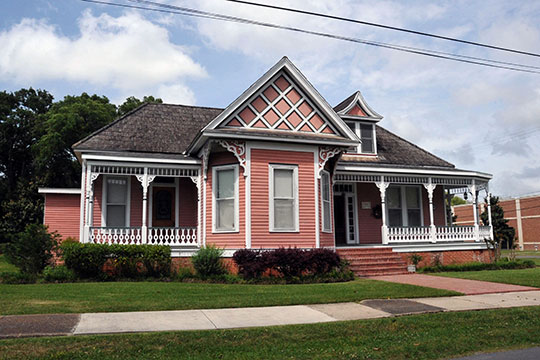 Ovide Broussard House, ca. 1899, 309 East St. Victor Street, Abbeville, LA, National Register