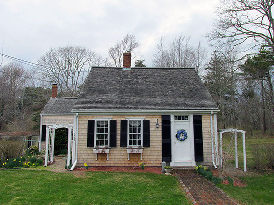 Home at 1579 Hyannis Road, ca. 1810, Barnstable, MA.