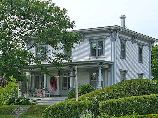 Port Royal House, ca. 1863, 606 Main Street, Chatham, MA, National Register
