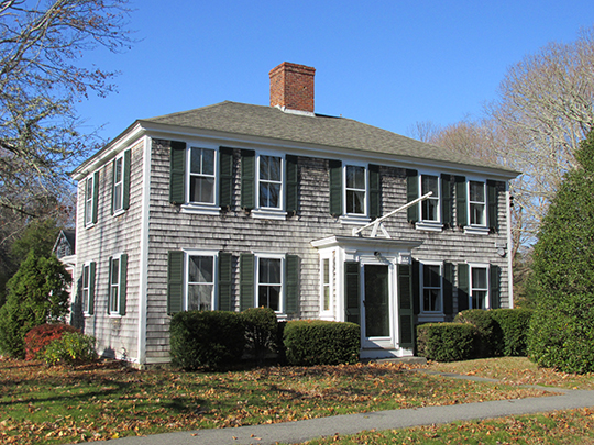Captain James Nye House, ca. 1762, North Falmouth Historic District, Barnstable County, MA, National Register