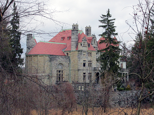 Searles Castle, ca. 1880s, Main Street, Great Barrington, MA, National Register