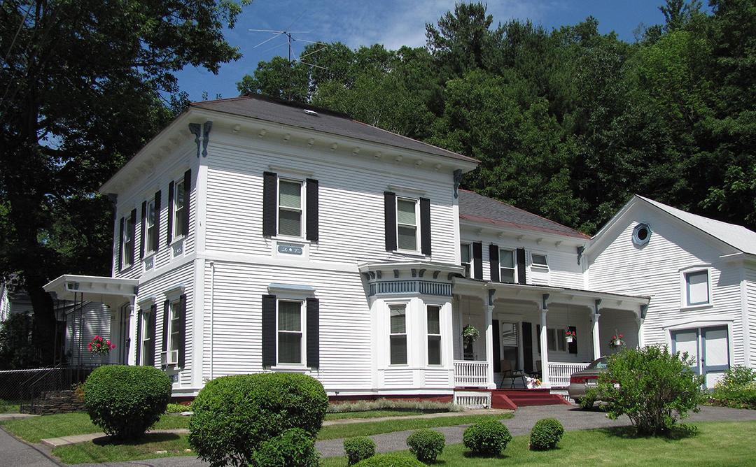 Armstrong House, ca. 1875, 60 Brooklyn Street, North Adams, MA, National Register