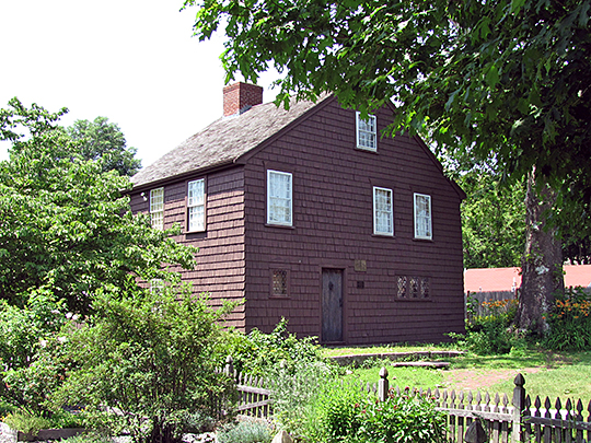 Woodcock-Hatch-Maxcy, ca, 1725, 362 N. Washington St., North Attleborough Massachusetts, National Register