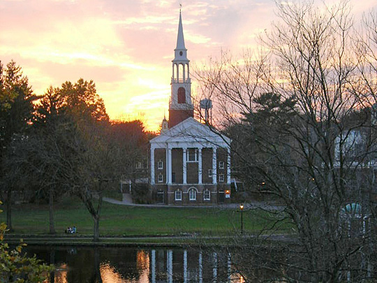 Whaton College Chapel, Norton Massachusetts, Bristol County