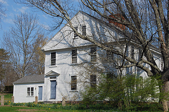 Dean-Barstow House, ca. 1870, National Register, 275 William Street, Taunton, MA 02780