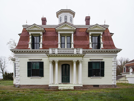 Capt Edward Penniman House, ca. 1867, Fort Hill and Governor Prence Roads, Eastham, MA, National Register