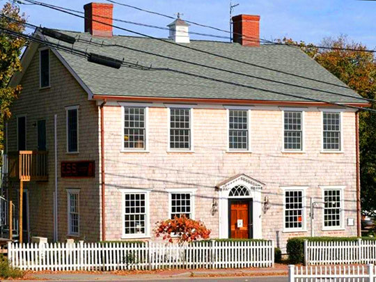 Ritter House, ca. 1796, Beach Street, Vineyard Haven, MA, National Register
