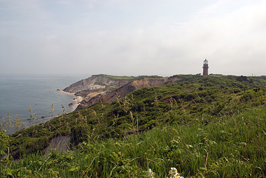 Clay Cliffs and Lighthouse, Aquinnah, MA