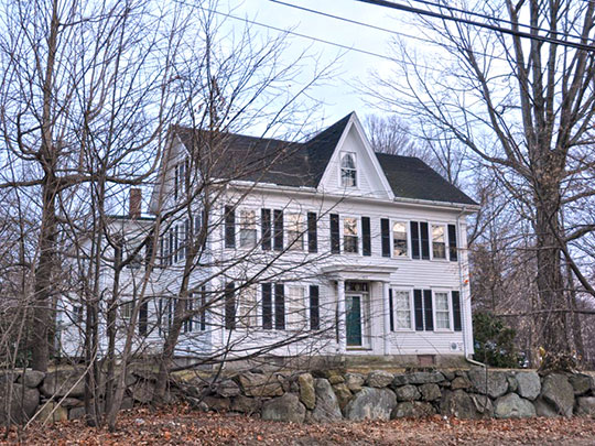 William Perrin House, ca. 1850, 464 River Road, Andover, MA, National Register