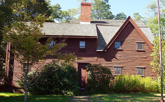 John Balch House, ca. 1679, 448 Cabot Street, Beverly, MA, National Register