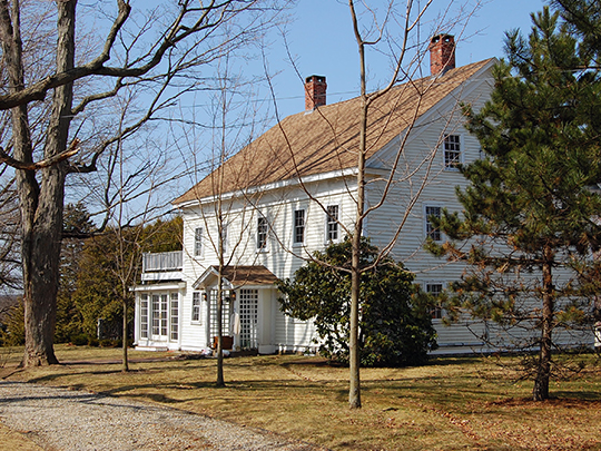 White-Preston House, ca. 1722, 592 Maple Street, Danvers, MA, National Register