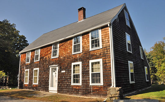 Ella Proctor House, ca, 1672, 189 Concord Street, Gloucester, MA, National Register