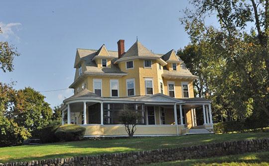 Bailey House, ca. 1893, 40 Market Street, Ipswich, MA, National Register