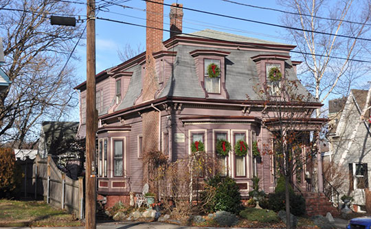 Lydia Pinkham House, ca. 1872, 285 Western Avenue, Lynn, MA, National Register