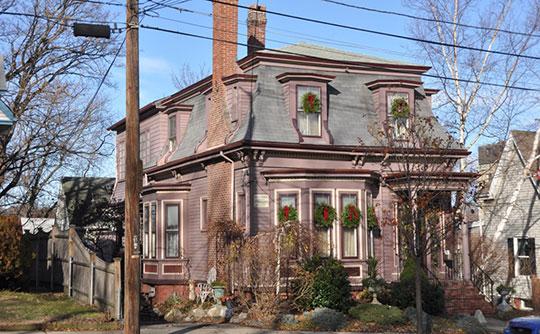 Lydia Pinkham House, ca. 1872, 285 Western Avenue, Lynn, MA, National Register