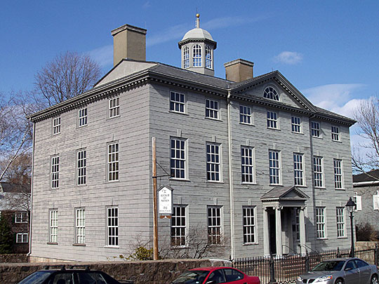Jeremiah Lee Mansion, ca. 1768, Washington Street, Marblehead, MA, National Register, National Historic Landmark