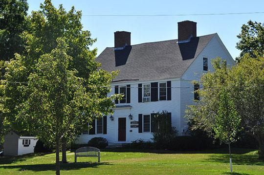 Hale-Boynton House, ca. 1764, Middle Street, Newbury, MA, National Register