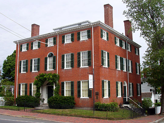 Caleb Cushing House, ca. 1808, 98 High Street, Newburyport, MA, National Register