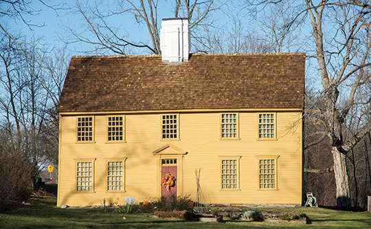 Parson Barnard House, ca. 1715, Osgood Street, North Andover, MA, National Register