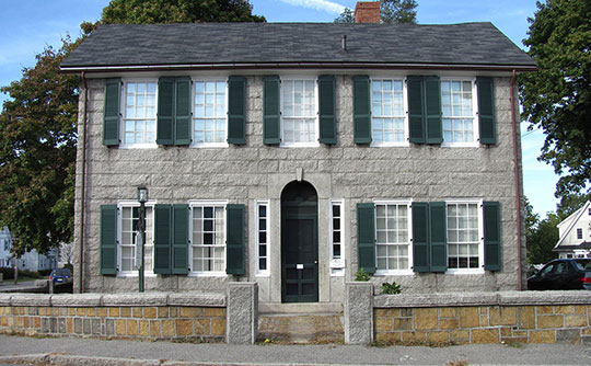 Sewall-Scripture House, ca. 1832, 40 King Street, Rockport, MA, National Register