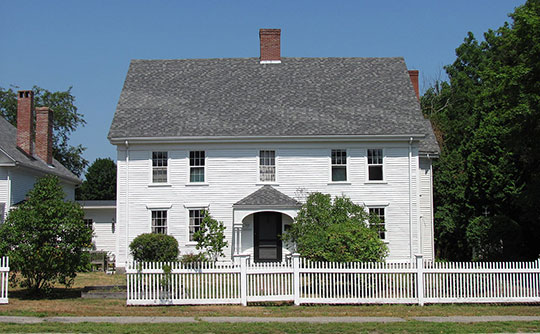 Thomas Lambert House, ca. 1699, 142 Main Street, Rowley, MA, National Register