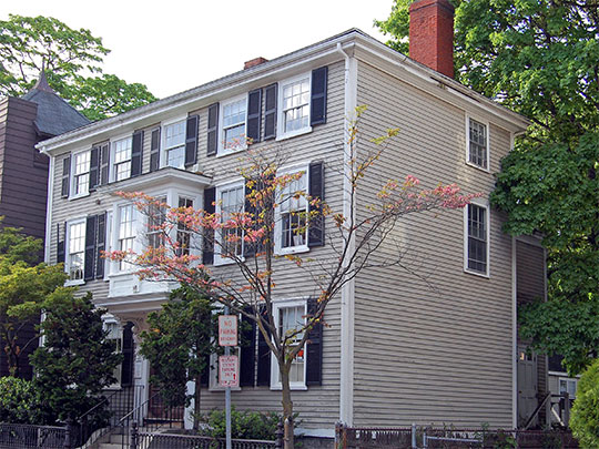 Rufus Choate House, ca. 1787, 14 Lynde Street, Salem, MA, National Register