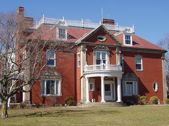 Elihu Thomson House, ca. 1889, Olmsted Subdivision Historic District, Swampscott, MA, National Register