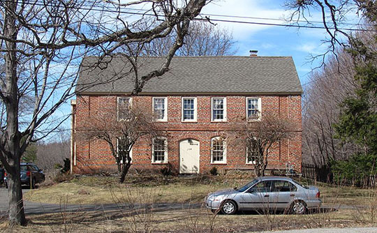 Samuel Chase House, ca. 1715, 154 Main Street, West Newbury, MA, National Register