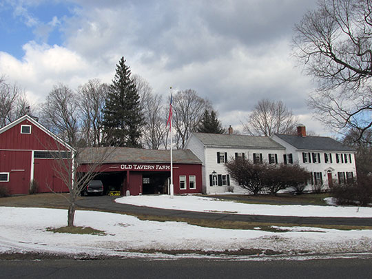 Old Tavern Farm, ca. 1740, 817 Colrain Road, Greenfield, MA, National Register