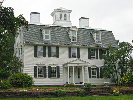The Manse, ca. 1744, 54 Prospect Street, Northampton, MA, National Register