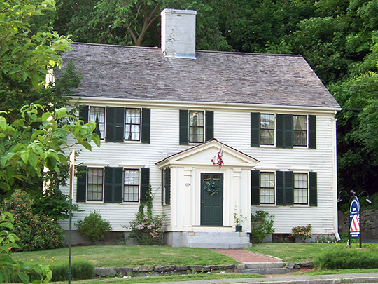 Colonel Roger Brown House, ca. 1775, 1694 Main Street, Concord, Middlesex County, MA, National Register