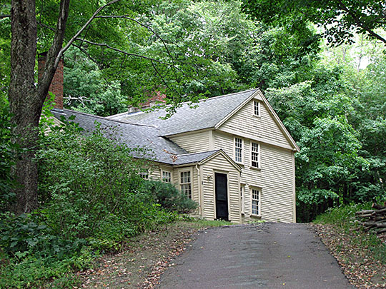 Faulkner Homestead, ca. 1702, 5 High Street, Acton, MA, national register