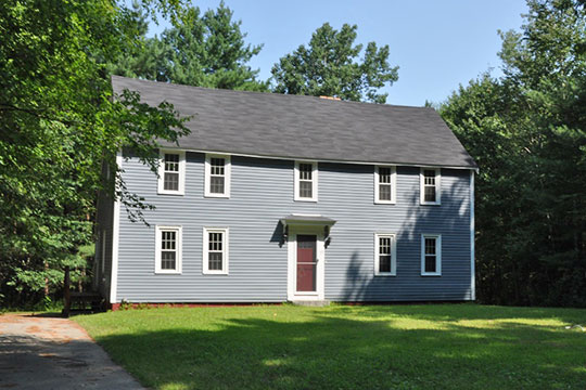 Deacon Samuel Hill House, ca. 1725, 33 Riverhurst Road, Billerica, MA, National Register