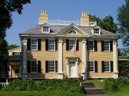 Longfellow House, National Historic Site, ca. 1759, 105 Brattle Street, Cambridge, MA, National Register