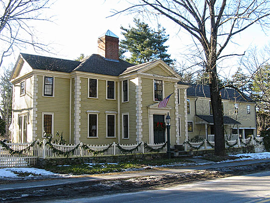 thomas hubbard house, sudbury road, concord, ma, national register