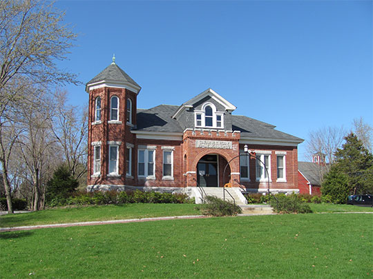 Town Hall (Roby Memorial Hall), ca. 1907, 511 Main Street, Dunstable, MA, National Register