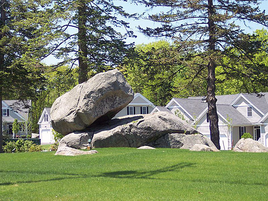 Balancing Rock, Holliston Massachusetts