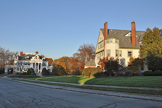 Homes in the Belvidere Hill Historic District, Lowell, MA, National Regiter