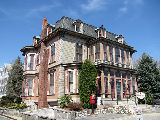 Wilbur Fiske Haven House, ca. 1880, 339 Pleasant Street, Malden, MA, National Register