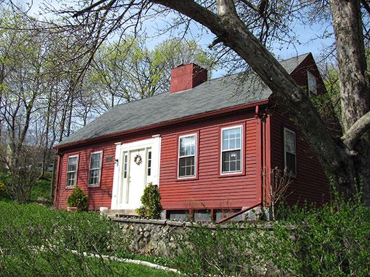 John Wade House, ca. 1784, 253 High Street, Medford, MA, National Register
