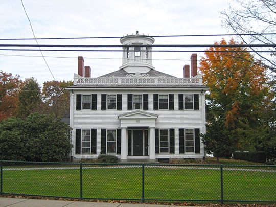 Beebe Estate, ca. 1828, 235 West Foster Street, Melrose, MA, National Register