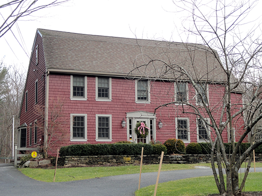 Richard Sanger III House, ca. 1734, Sherborn, MA, National Register