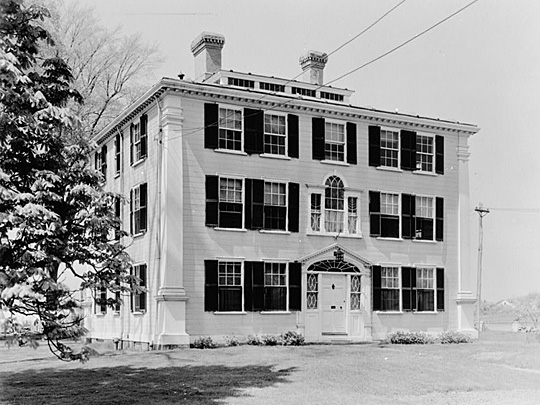Colonel Loammi Baldwin Mansion (ca. 1661 and 1803), Elm Street, Woburn, Middlesex, MA