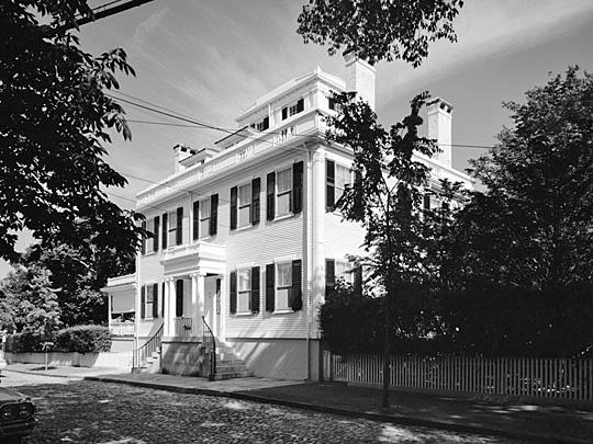 John Wendell Barrett House, Main Street, Nantucket, MA, Historic American Buildings Survey