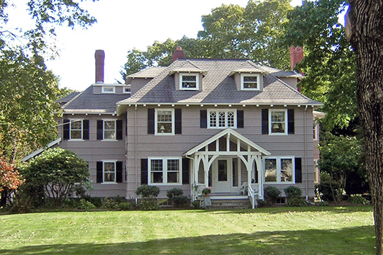Home on Washington Street, Canton Corner Historic District, Canton, MA, National Register